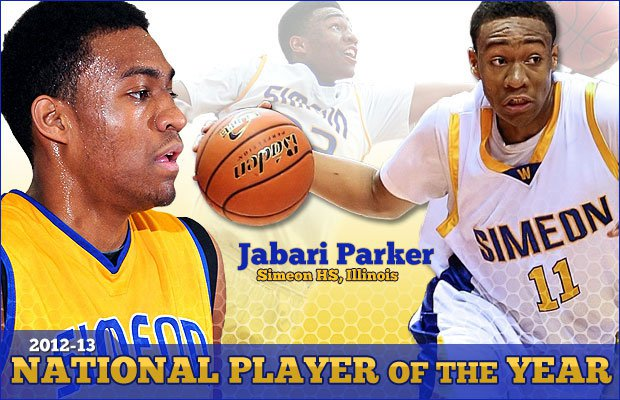 low priced 9e31d 1bf4f MaxPreps 2013 National Boys Basketball Player of the Year ...