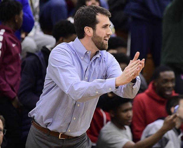 Head coach Patrick Holmes
