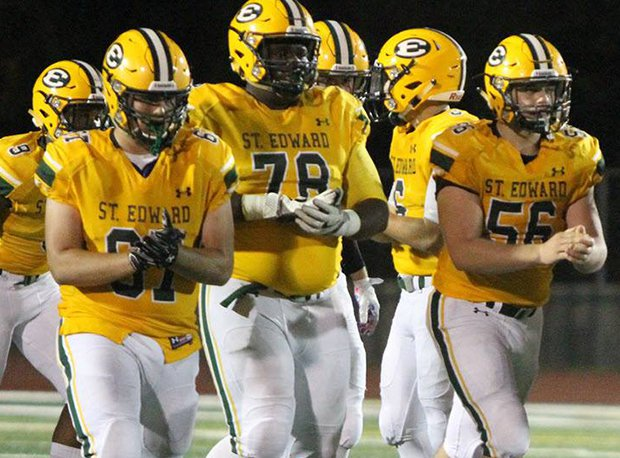 St. Edward assumes the top spot in the Fab 5. The Eagles are a unanimous No. 1.