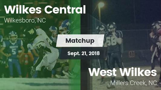 Football Game Recap: West Wilkes vs. Wilkes Central