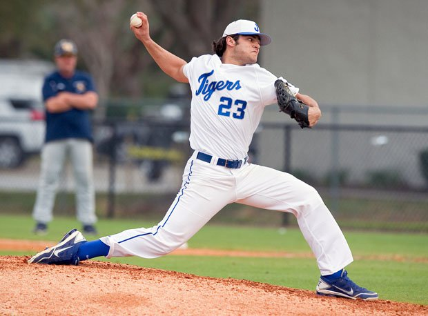 Lance McCullers starred on the mound at the plate at Jesuit (Tampa, Fla.).