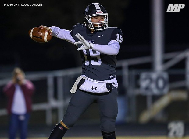 Lindsay's Kolt Schuckers was first team all-state last year when he threw for 3,344 yards and 34 touchdowns.