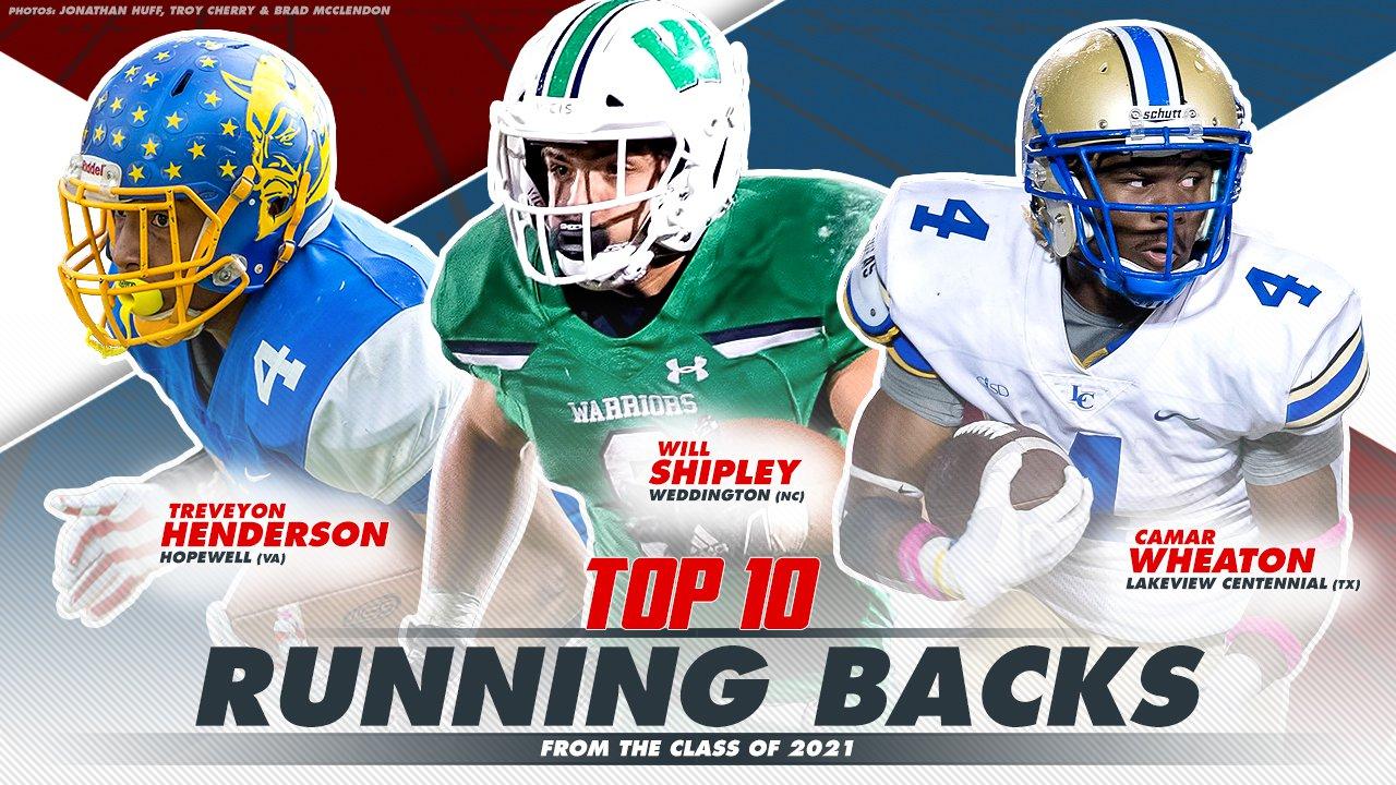 Best Running Backs 2021 Top 10 high school running backs from Class of 2021   MaxPreps