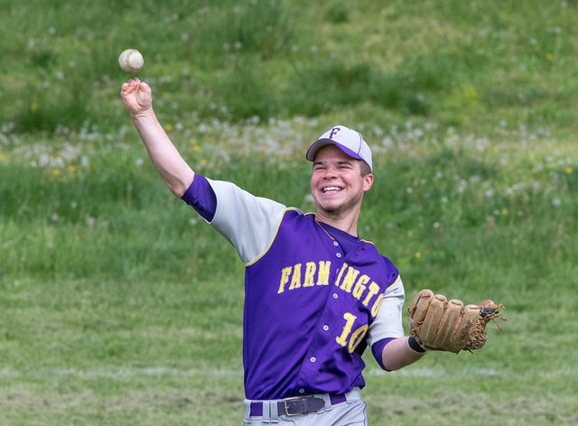 Josh Ruchotzke is missing the lower half of both his legs and most of both his hands. His present and future in baseball, though, don't fall into the category of tragedy, as he has become a pivotal player on the Farmington High baseball team.