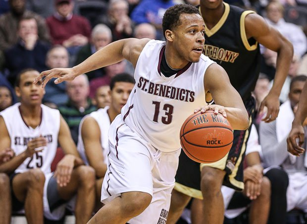 Isaiah Briscoe helped tradition-rich St. Benedict's Prep go 32-2 and reach the final of the National High School Invitational.