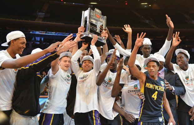 Montverde Academy won its third straight national title in 2015.