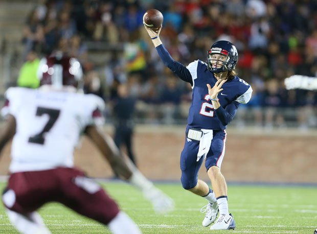 Mitchell Jonke leads Allen of Texas into the playoffs in what is the third-toughest playoffs division.