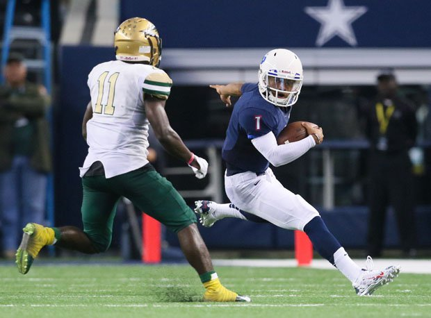 Kyler Murray rushed for 4,139 yards in his high school career.