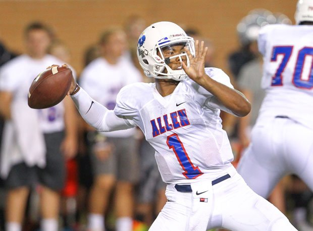 Kyler Murray threw for 10,386 yards and 117 touchdowns in three seasons at Allen.
