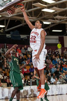 Jahlil Okafor's 26 points and seven boards helped Whitney Young notch a big win Saturday.