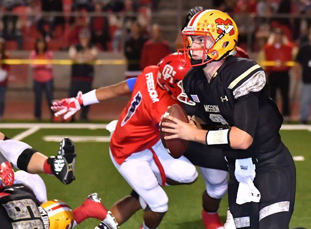 Matthew McDonald has helped Mission Viejo to the west's No. 5 regional ranking.