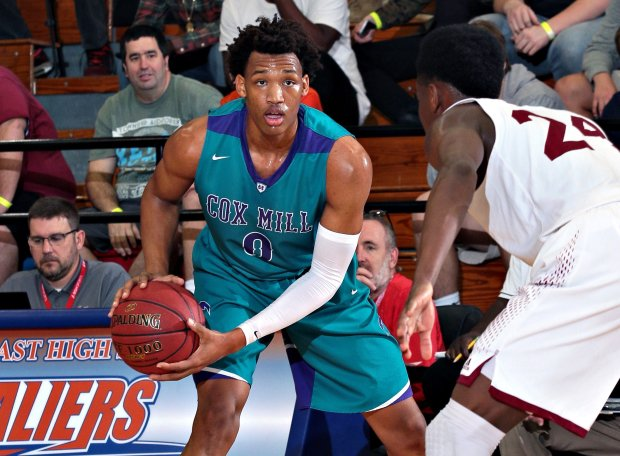 In addition to his exploits at Cox Mill, Wendell Moore has won gold medals with USA Basketball over each of the past two summers.