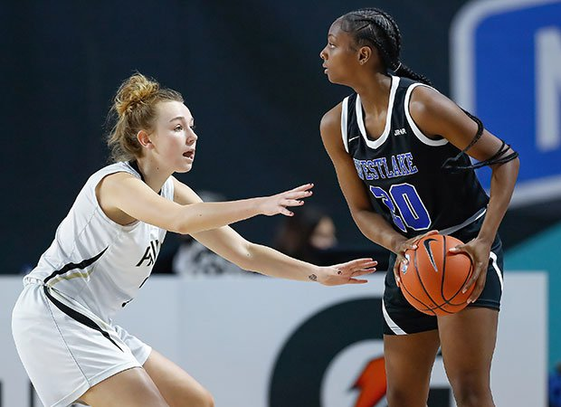 Ta'Niya Latson supplied a game-high 31 points in Saturday's title game victory for Westlake.