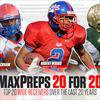 MaxPreps 20 for 20: Top 20 high school wide receivers over the last 20 years