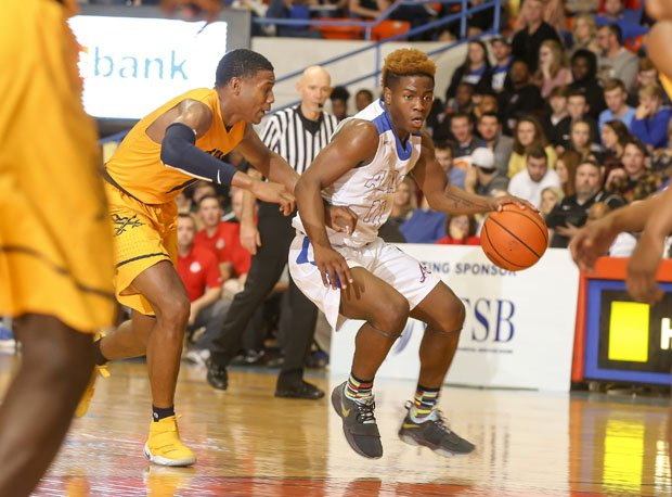 Zion Harmon, nation's highest-scoring freshman.