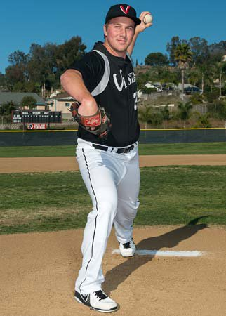 Pitcher Brett Seeburger