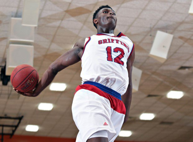 Two-time MaxPreps All-American Zion Williamson soars for a dunk during his junior campaign.