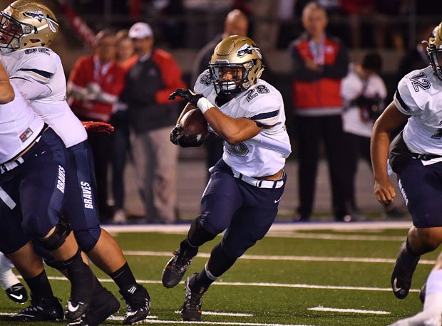 Bosco junior running back George Holani rushed for a touchdown but finished with just 17 carries for 47 yards.