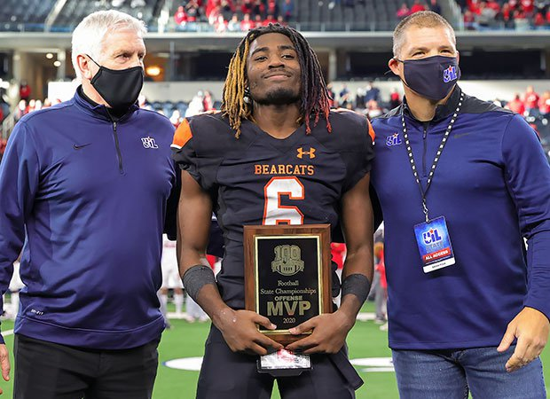 DeMarco Roberts was named the game's Offensive MVP after finishing with 255 yards rushing and six touchdowns.