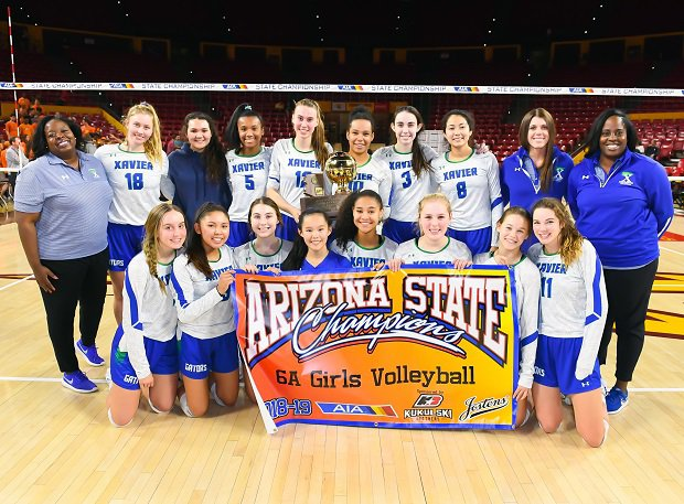 Xavier College Prep won the Arizona 6A state title.
