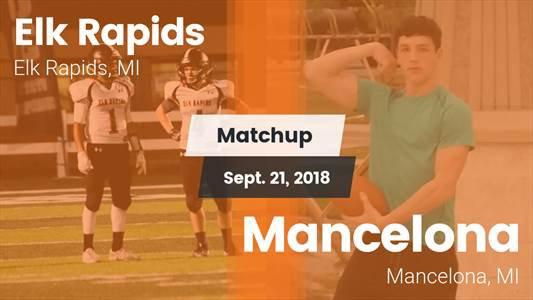 Football Game Recap: Mancelona vs. Elk Rapids