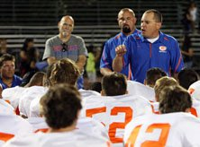 Gorman coach Tony Sanchez has  led his team to back-to-back  state crowns.