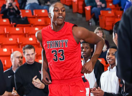 Following a solid junior campaign at Trinity, Myles Turner has played his way into elite status in high school basketball's 2014 class.