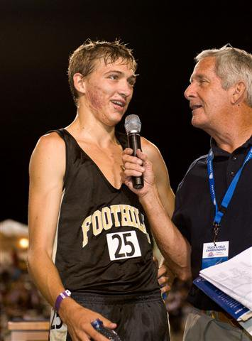 Schwartz beamed for hours after his 3,200 win.