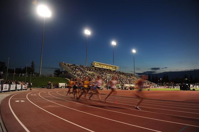 One of nation's top sporting events drew almost 10,000 fans to new venue.