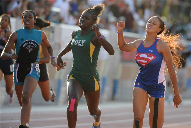 Thompson and Ndipagbor, the defending state champ, had gone head-to-head the previous week.