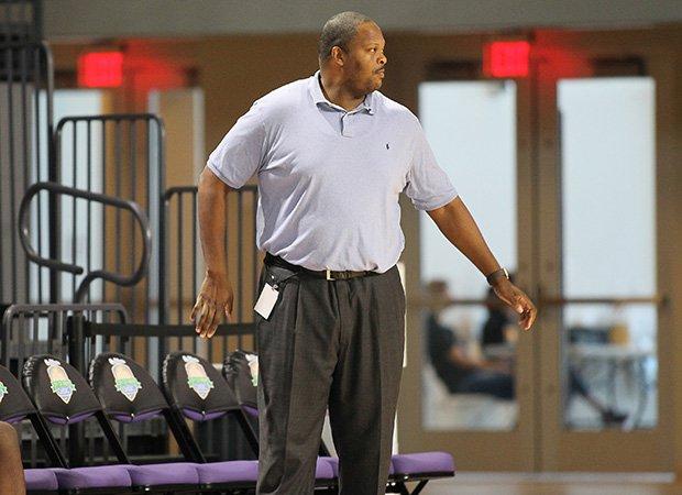 Head coach Tahj Holden