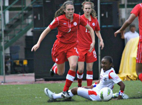 Lindsay Agnew's emergence on the Ohio girls soccer scene played a role in getting her on to the U-17 Canadian National Team, which is currently playing in Azerbaijan.