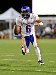 Junior quarterback Justin Moore rushed for 222 yards and a TD for Westlake.