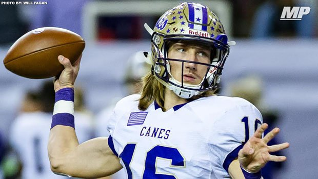 Trevor Lawrence threw for 308 yards and five touchdowns on Friday while playing just over half the game.
