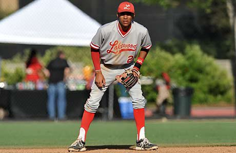 Lakewood's J.P. Crawford leads the group of top high school middle infield prospects for the 2013 MLB draft.
