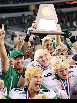 Dallas is high on the list thanks in part to Southlake  Carroll and its multiple state championships.
