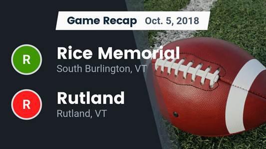 Vermont High School Football Rankings