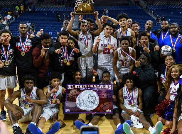 Duncanville captured the Texas UIL 6A basketball title over the weekend.