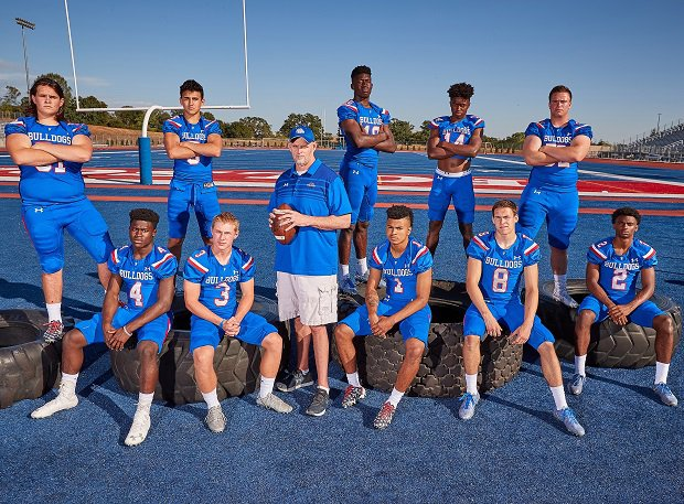 Coach Kris Richardson and the Folsom Bulldogs have won 91 percent of their games in the past decade and enter 2018 ranked No. 19 in the nation.