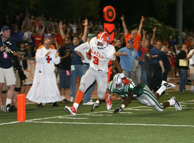Powell's remarkable TD gave Gorman its last lead 14-7.