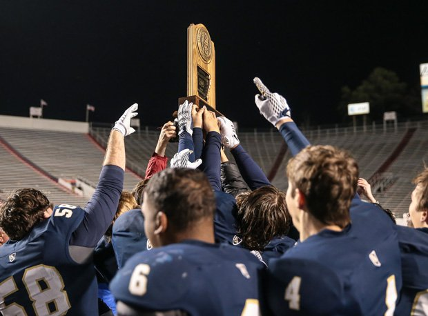 Pulaski Academy won an Arkansas state title last season.