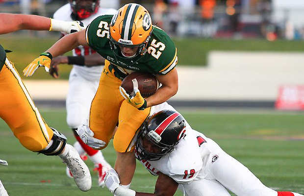 St. Edward moved up a spot to No. 2 in this week's Midwest rankings.