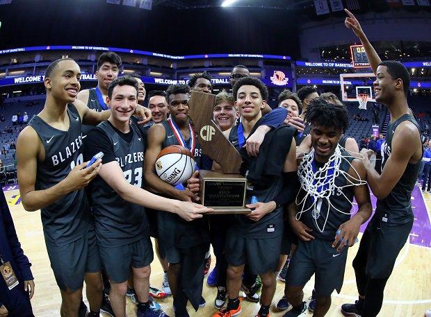 Sierra Canyon won the CIF Open Division boys basketball title.