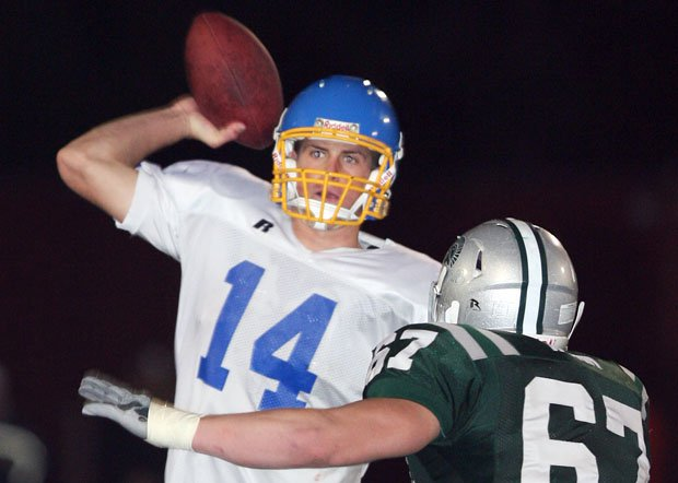Sean Mannion threw for 3,521 yards and 27 touchdowns his senior year at Foothill (Pleasanton).