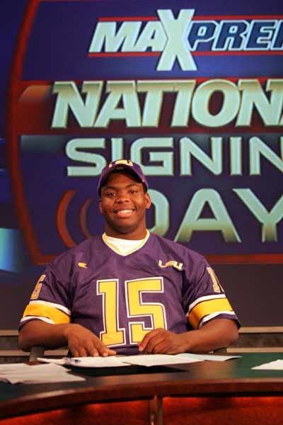 "J.R. ""Ego"" Ferguson was happy with his choice to LSU."
