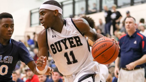 Oklahoma commit De'Vion Harmon soars Guyer past previous No. 15 Westlake and into the Top 25 national rankings.