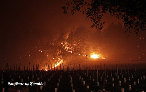 The Tubbs Fire began the evening of Oct. 8 and took 22 lives and destroyed 53,000 structures.