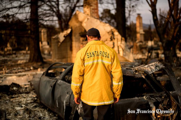 The Tubbs Fire is considered part of the most destructive fire in California history.