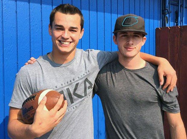 Beau Barrington (left) and Kyle Carinalli