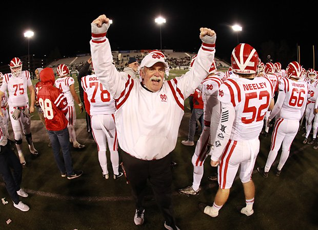 Mater Dei and coach Bruce Rollinson finally won the school's first CIF state football championship.